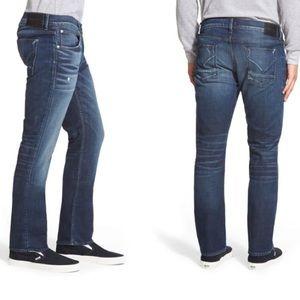 Hudson 'Byron' Button Fly Straight Leg Jeans Sz 31